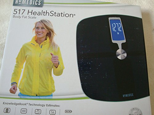 Homedics 517 HealthStation Body Fat Scale - SC-517 (Homedics Scale Body compare prices)