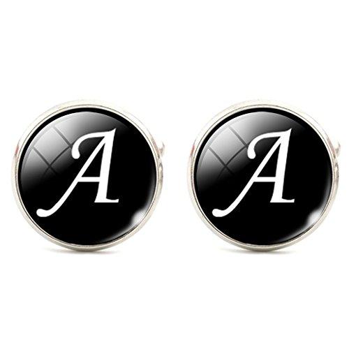 Jiayiqi-Men-Alphabet-Cufflinks-Single-Initial-Letter-Business-Cuff-Links-A-Z