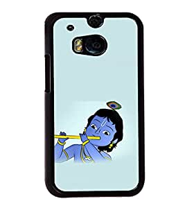 printtech Lord God Krishna Small Cartoon Back Case Cover for Huawei Honor 7 Enhanced Edition; Huawei Honor 7 Dual SIM with dual-SIM card slots