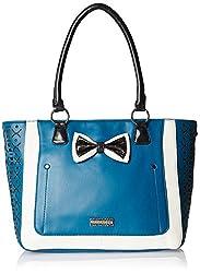 Peperone Womens Handbag (Blue)