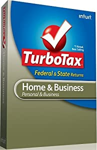 TurboTax Home & Business Federal + E-file + State 2011 [Old Version]