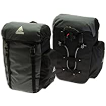 Axiom Seymour DLX 30 Pannier , Grey/Black (Single)