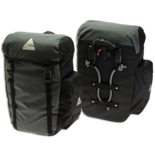 Buy Cheap Axiom Seymour DLX 30 Pannier Set Black Gray