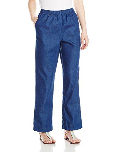 Alfred Dunner Women'S Petite Short Denim Pant, Denim, 12P (Women Pants Petite compare prices)