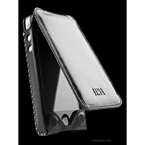 Sena Sarach Flip Leather Case for iPhone 4 / 4S