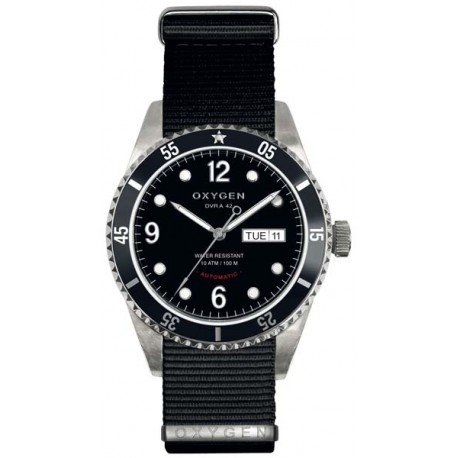 Oxygen reloj hombre Diver automática 42 mm Limited Edition Moon Silver EX-A-MOO-42-NN-BL