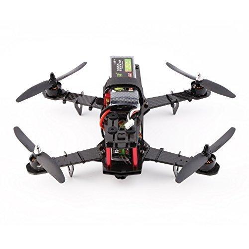 Wosports FPV Mini 250 Racer Drone Pure Carbon Fiber Quadcopter Frame