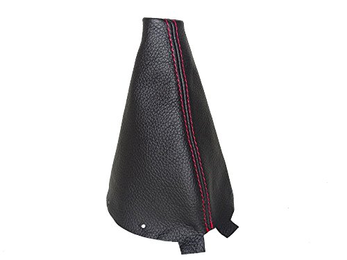 for-mitsubishi-asx-outlander-sport-2010-16-gear-stick-gaiter-black-genuine-leather-red-stitching