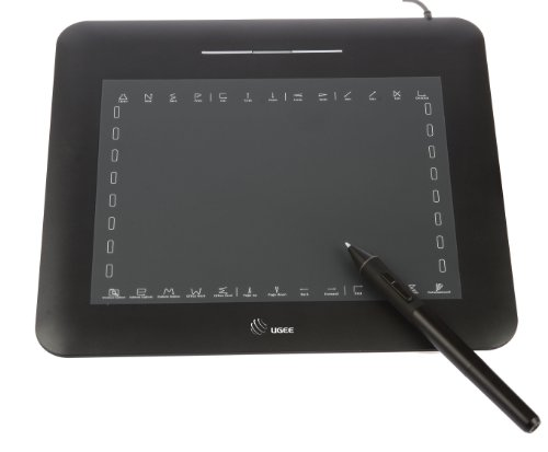 "Amzdeal New USB Pen Graphics Tablet Pad Pen Drawing Art Design Large Area 8.0""x6.0"" Ugee-M860 (Black) at Sears.com"