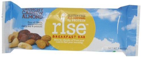 RiseBar Breakfast Crunchy Variety Pack, 12-Count Bars