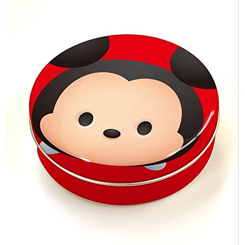 Japan Disney Official Tsum Tsum - Mickey Mouse Steel Can Container with Cute 3D Foldable Character Memo Pad Planner Collection Wonderful Gift Assorted Color (Mini Fridge With Code compare prices)