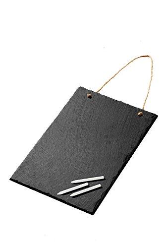 rectangle-vintage-slate-chalkboard-sign-8x12-chalk-included-decorative-hanging-chalk-board-for-cafes