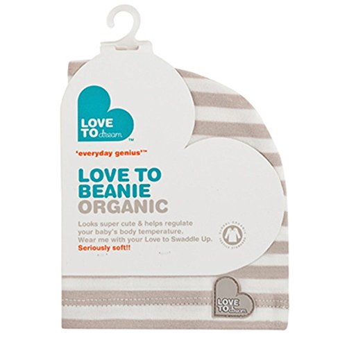 Love to Swaddle Up Beanie Organic Taupe - 1
