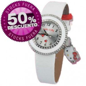 GENUINE HELLO KITTY DROP OUT WATCH ZR26153