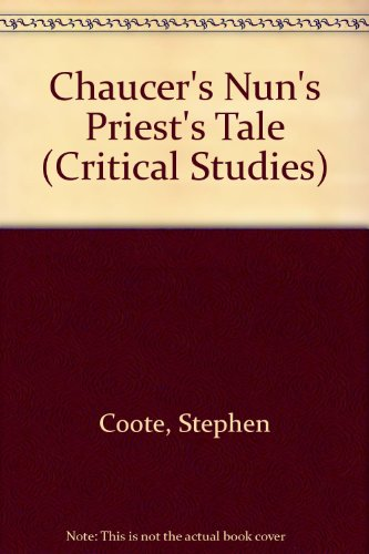 a literary analysis of the nuns priests tale by geoffrey chaucer Tips for literary analysis essay about the nun's priest's tale by geoffrey chaucer.
