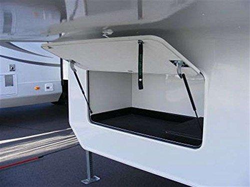 Hatchlift Door Kit - Standard For Under Slide - 1 Each 59 1 2in x32 1 4in x86in standard fit shower kit in white acrylic base silver hamrd door left drain decora provantage