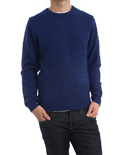 Maglione Mc Gregor Leaf blu Royal M Blue