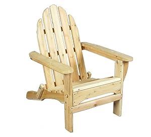 Fauteuil adirondack les bons plans de micromonde - Plan chaise de jardin en bois ...