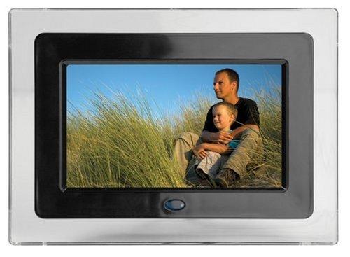 Haier PF710 7-Inch Digital Photo Frame (Black) (Haier Camera compare prices)