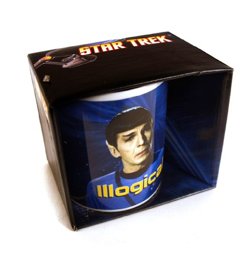 gadget geek - star trek mug illogical half moon bay