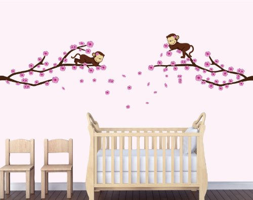 Monkey Wall Art For Nursery