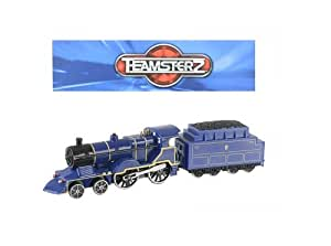 Teamsterz City Tank Engine Train With Light And Sound 1:55 Scale - BLUE (HL287)