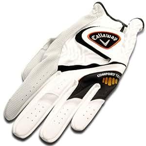 Callaway Comfort Tech Gant de golf Homme Main gauche Blanc Grip S