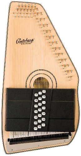 Oscar Schmidt OS120-CNE 21 Chord Adirondack Autoharp with Fine Tuning System and Passive Pickup - Natural