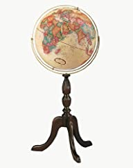Replogle Globes Cambridge Globe, 16-Inch, Antique Walnut