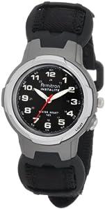 Armitron Sport Unisex 25/6369 Easy to Read Instalite Black Watch