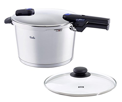 Fissler 8 quart Vitaquick Pressure Cooker with Glass Lid Set (Fissler Pressure Skillet compare prices)