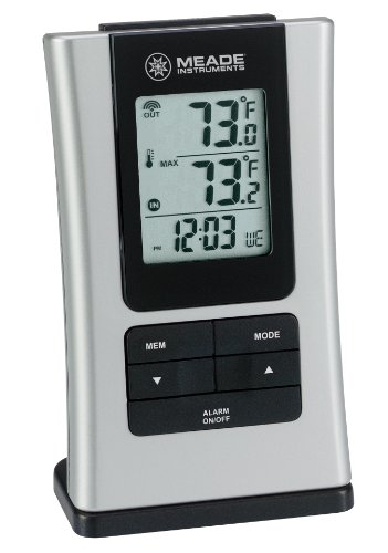 Meade Instruments TE109NL-M Wireless Indoor/Outdoor Thermometer (Meade Indoor Outdoor Thermometer compare prices)