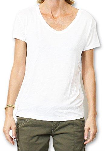 School Rag Trelya-T-shirt  Donna    bianco S