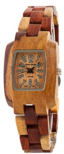 buy Tense Solid Sandalwood Inlaid Wood Timber Small Wrist Watch M8102I Lf