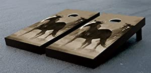 HORSES CORNHOLE GAME SET