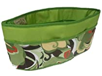 Purse To Go Pockets Plus Purse Organizer, Jumbo-Green Carnival
