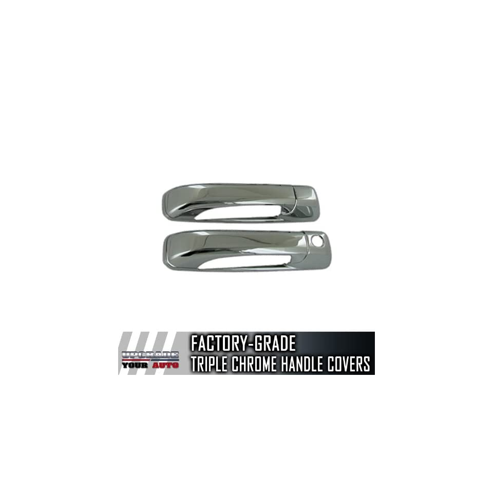 2009 2013 Dodge Ram 2dr Chrome Door Handle Covers (No Passenger Keyhole)