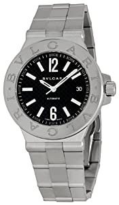 Bvlgari Men's BVLDG40BSSD Diagono Black Dial Watch by Bvlgari Omnia Amethyste