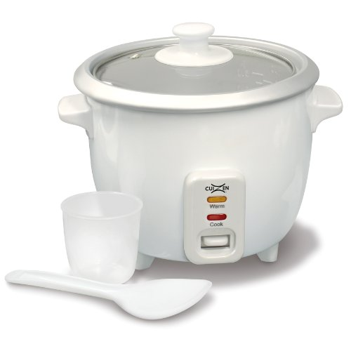 Cuizen Crc-1006 3-Cup (Uncooked) 6-Cup (Cooked) Rice Cooker, White