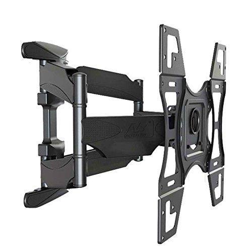 NB Supporto da parete per TV Misura la Maggior Parte 32 - 60 Pollici, VESA max mm 400 x 400, LED LCD Plasma & Curved, kg 57- Ultra Sottile Tilt Swivel Caratteristiche, model DF600