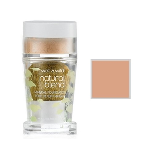 ウェットアンドワイルド Natural Wear Blend Mineral Foundation Medium