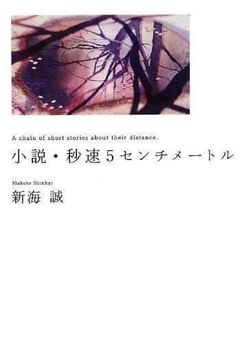 小説・秒速5センチメートル