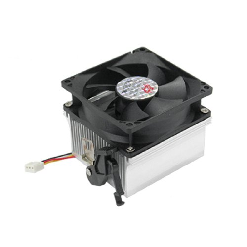 CPU Aluminium Heatsink Fan Cooler for AMD Socket 754 /939/ 940 2016 new ultra queit hydro 3pin fan cpu cooler heatsink for intel for amd z001 drop shipping
