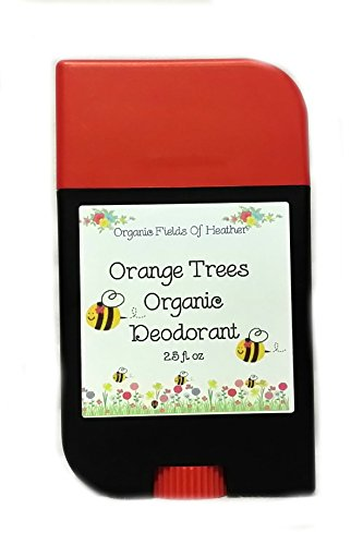 Organic Deodorant - Orange Cream Scent - 100% Certified Organic Non-Gmo Ingredients - **New & Improved!** For Women - Men - Kids - Will Not Dry Out Your Skin Or Leave A Long Lasting Oily Residue - Will Naturally Heal Your Damaged Skin - Terrific For Every back-1000019