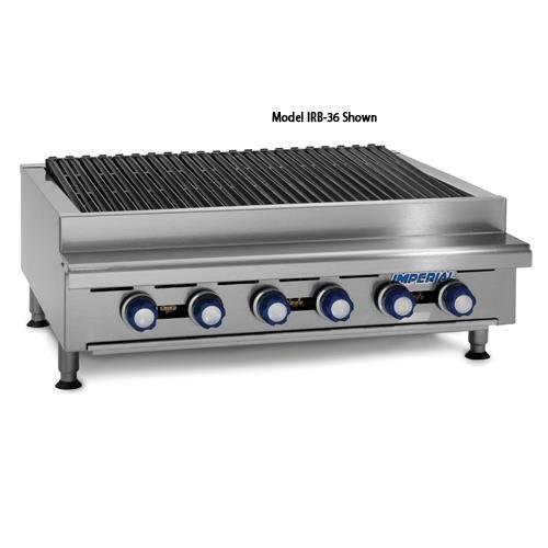 IRB-36 36 Commercial Gas Radiant Char Broiler Grill Counter Top