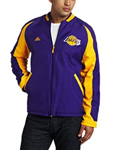 NBA Men's Los Angeles Lakers Tip Off Midweight Jacket (Purple, X-Large)