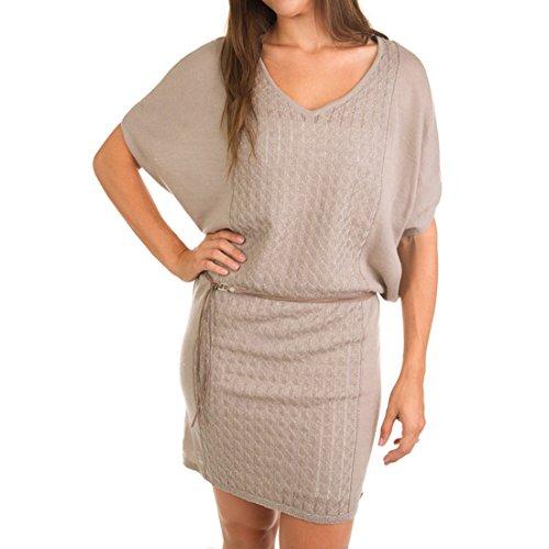 Emu Australia Shoreham Sweater Dress M Birch front-681414