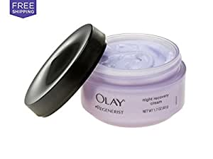 Olay Regenerist Regenerating Night Recovery Moisturizer Cream 1.7 Oz