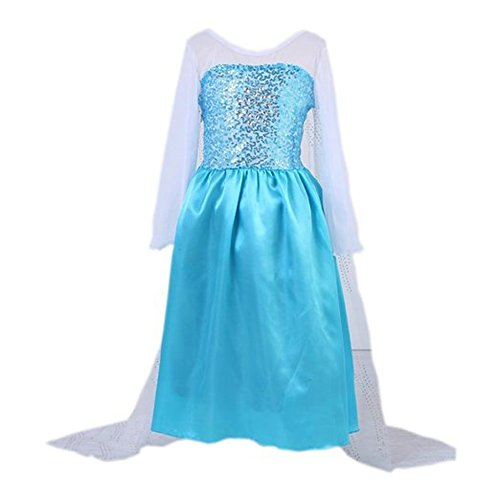 Girls Queen Costume Princess Dress