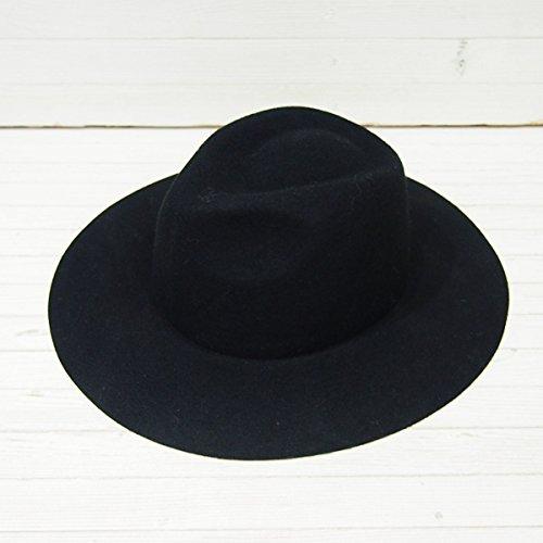 Amazon.co.jp: (フレイ アイディー)FRAY I.D ウール中折れハット fwgh155344 BLACK F: 服&ファッション小物